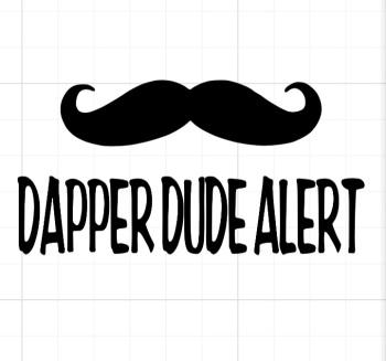 Dapper Dude Alert
