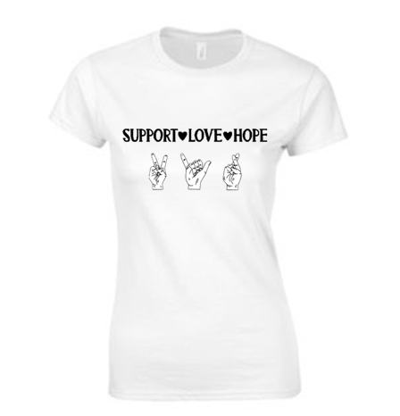 Support, Love, Hope