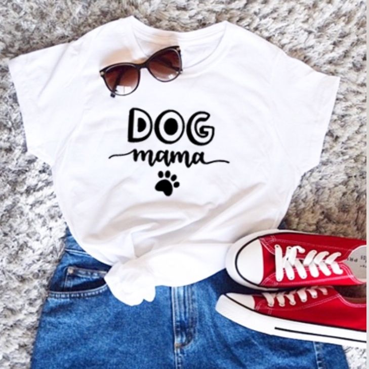 personalised dog mom shirt