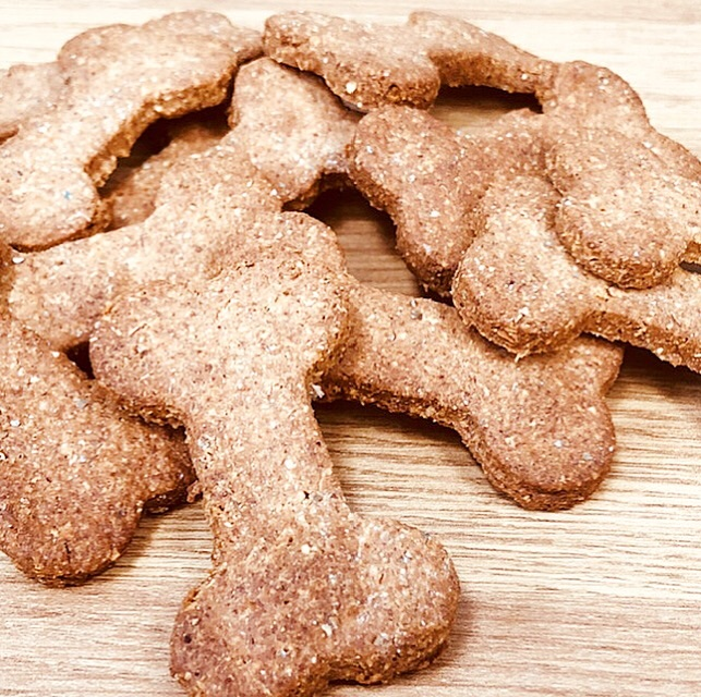 handmade dog treats for good breath