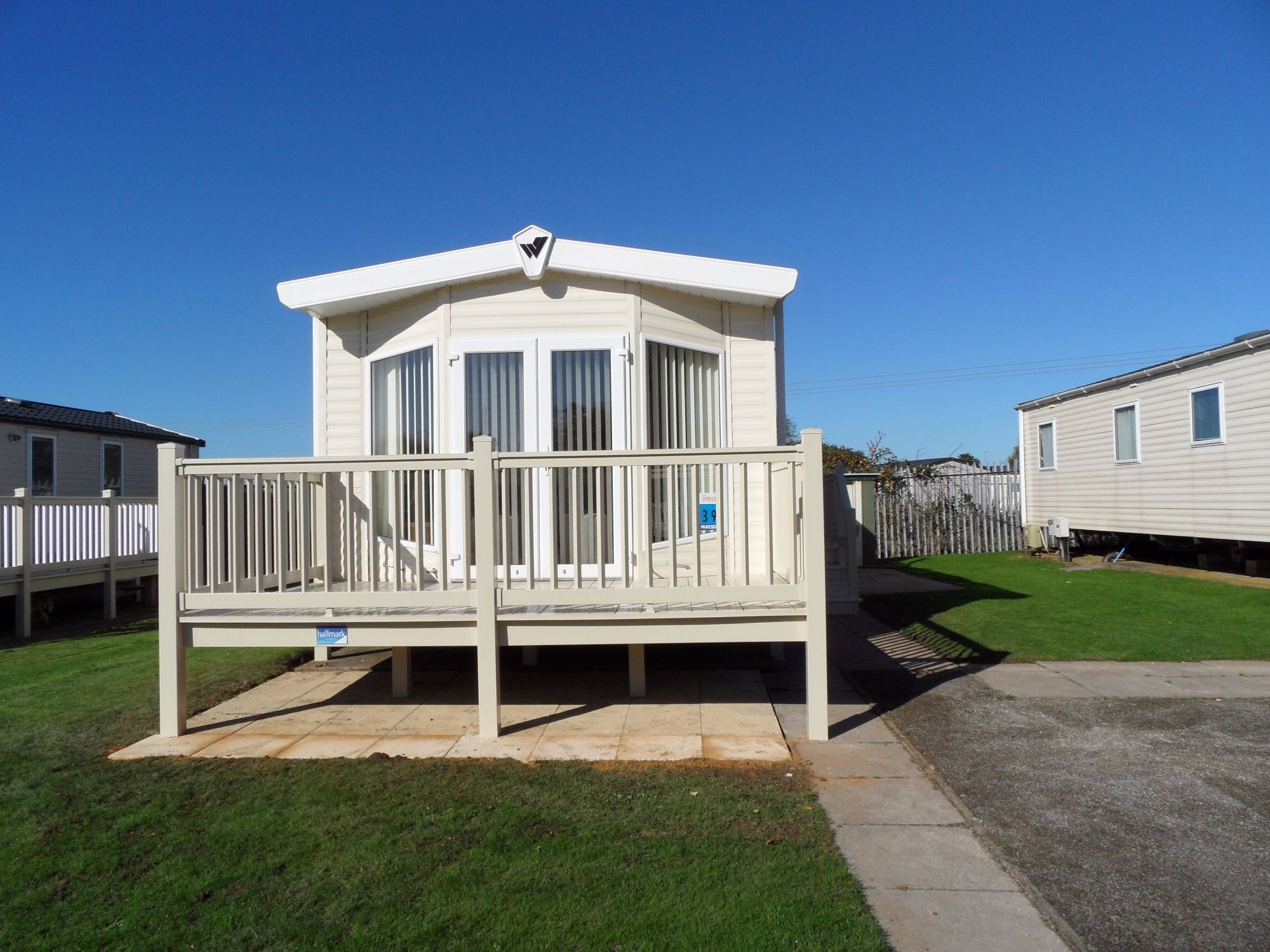 Butlins Skegness Caravans parkside 39, gold plus accommodation