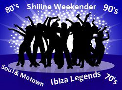 Butlins Adult Weekends, 80's,90s,We Love the 70s,Shiine weekend