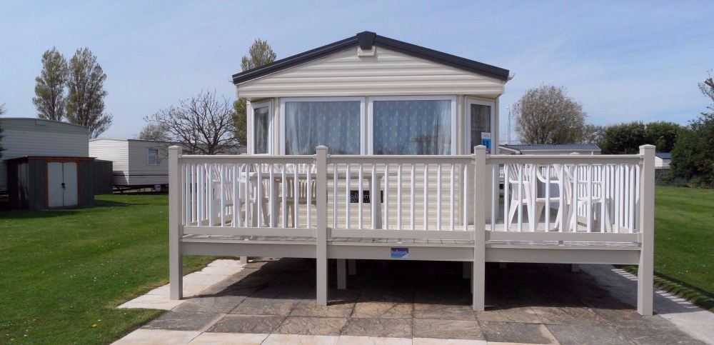 4 Bedroom, 10 Berth Caravans on Dunes Butlins Skegness