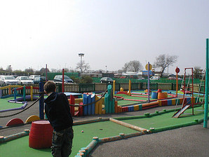 Crazy Golf Butlins