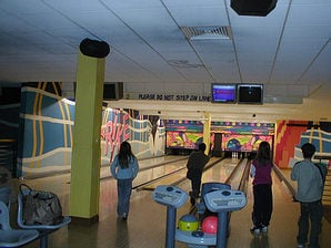 Ten Pin Bowling at Butlins