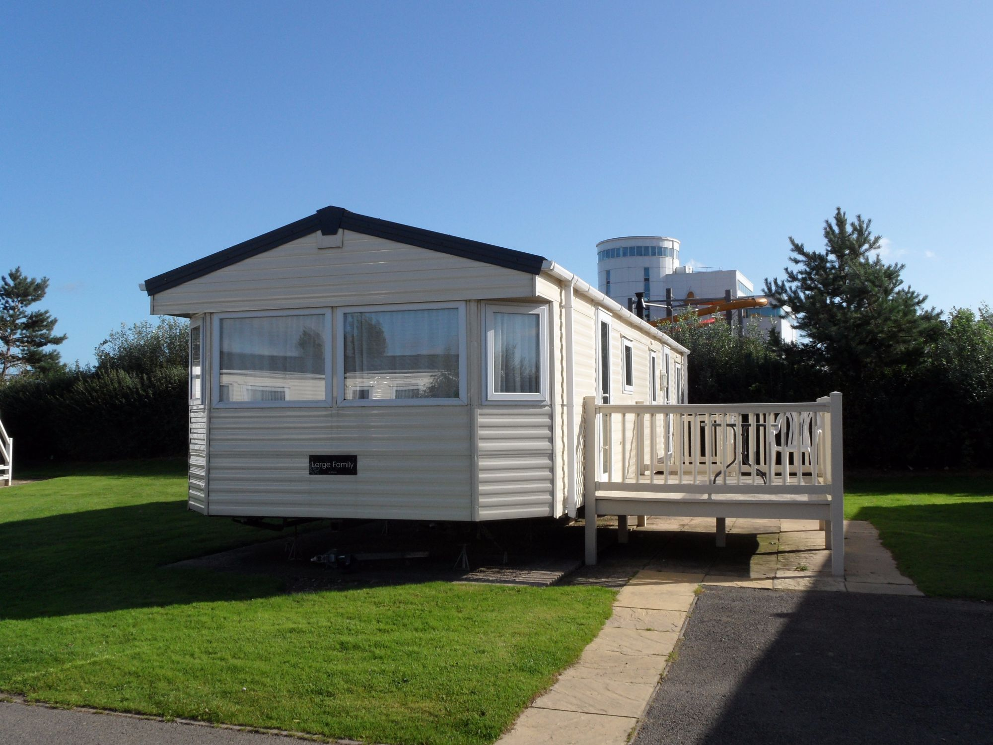 Static Caravans for hire at Butlins Skegness