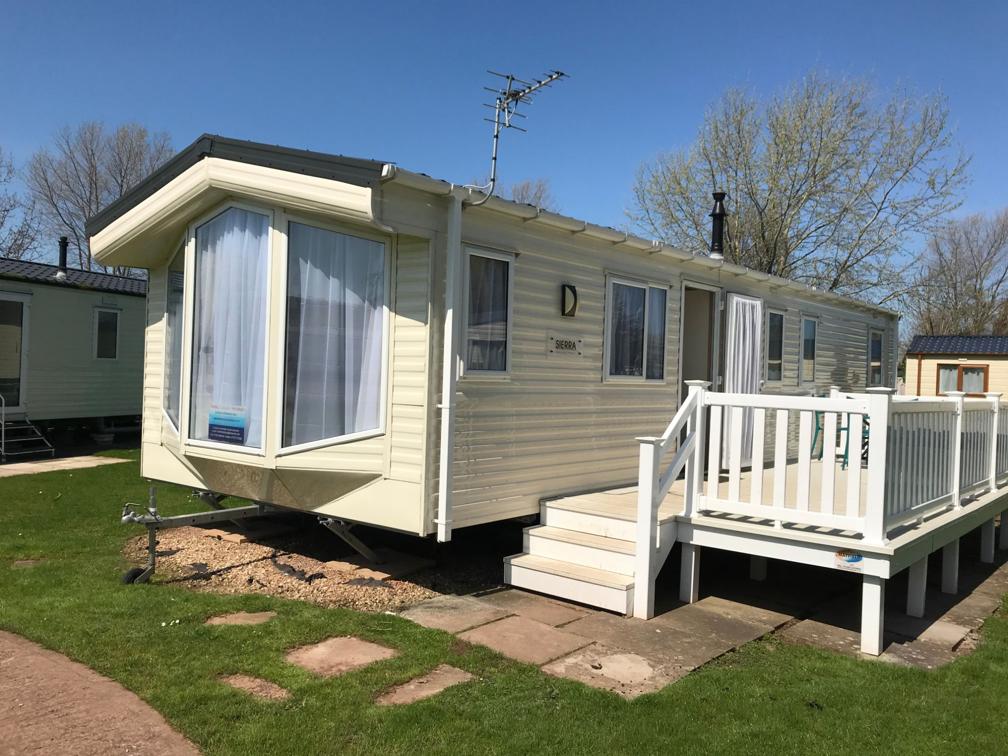 3 Bedroom Caravan Butlins Minehead