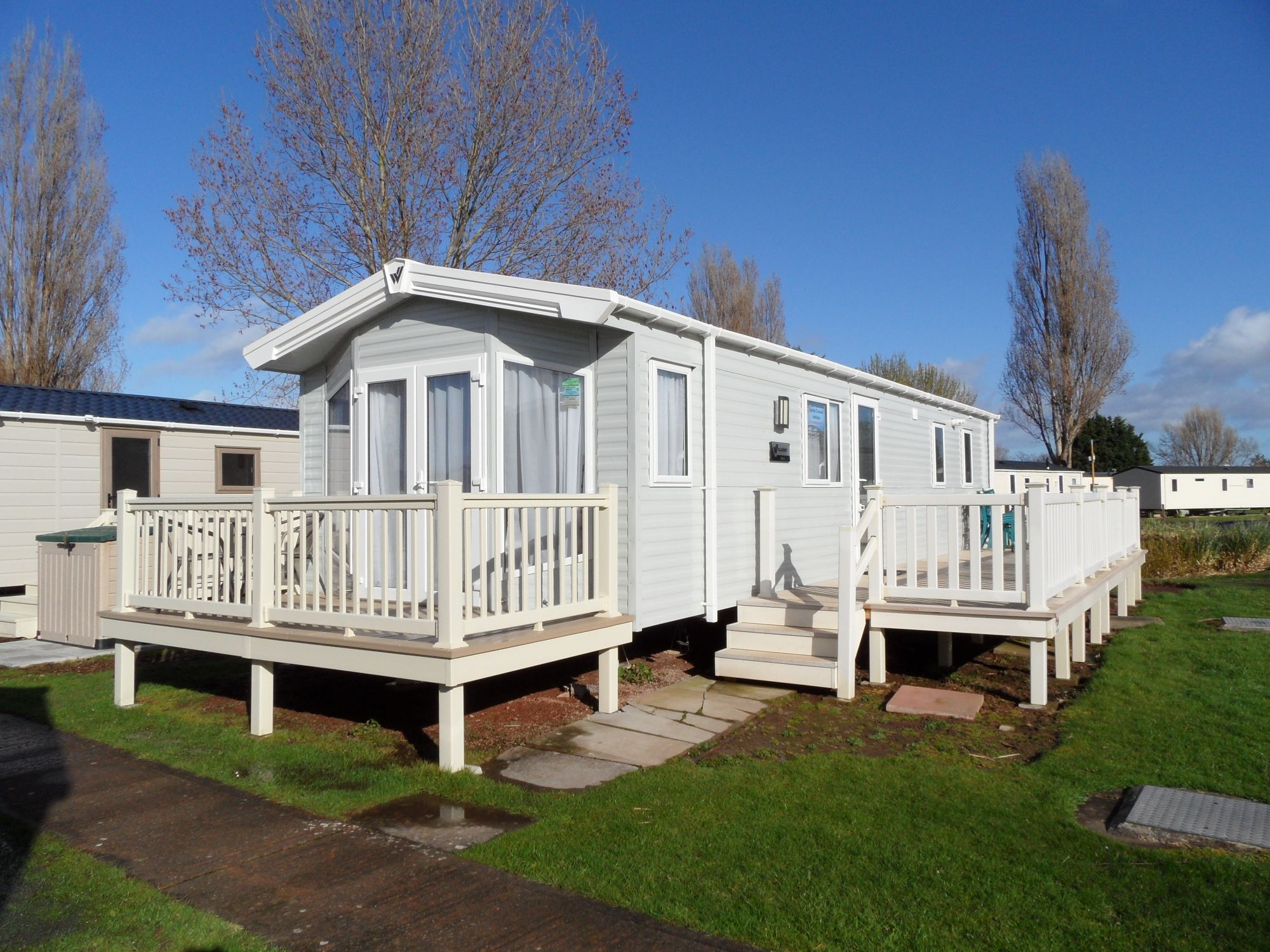 Butlins Holiday Homes New Luxury Caravan