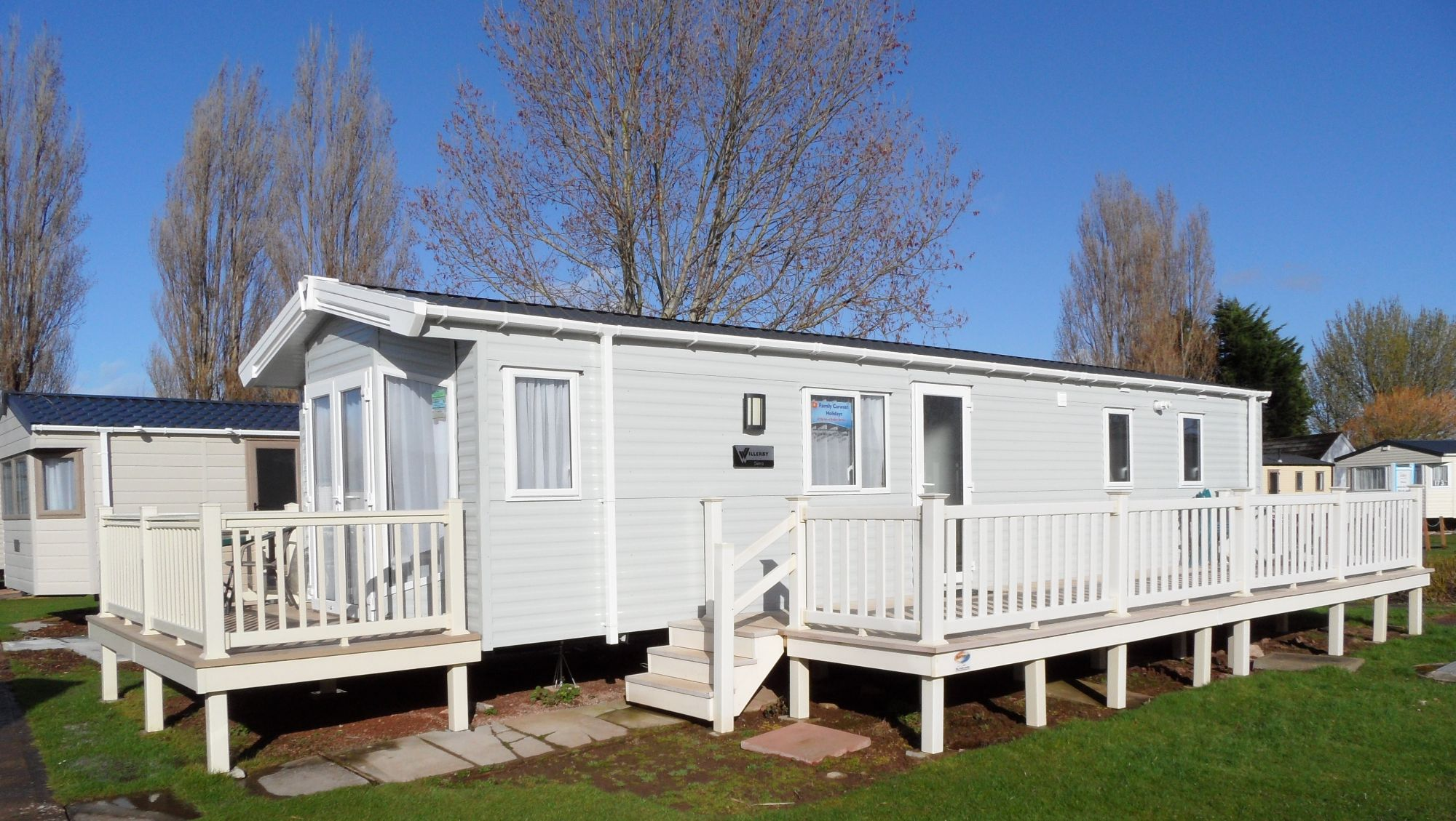 Butlins Minehead 3 Bedroom 6 berth Caravan