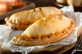 Cornish pasties at Butlins yum yum