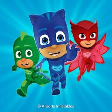 PJ MASKS ON JUST FOR TOTS BREAKS BUTLINS
