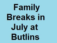 <!--005-->Butlins Special Offers in July