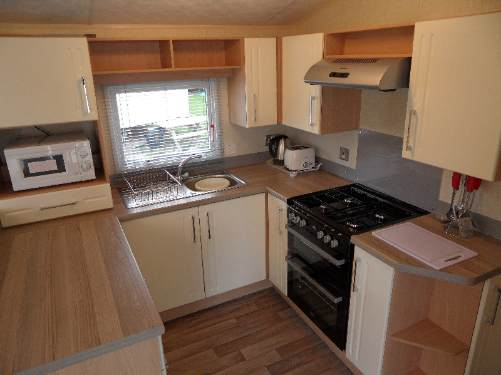 Caravan accommodation at Butlins Minehead
