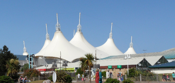 butlins Skyline tent