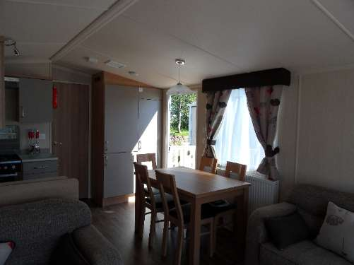 Lakeside Caravan accommodation at Butlins Minehead
