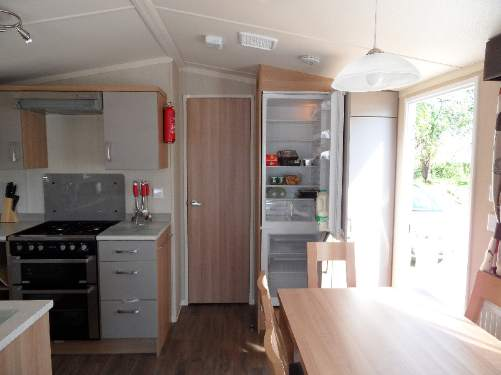 self caterting caravan accommodation at Butlins