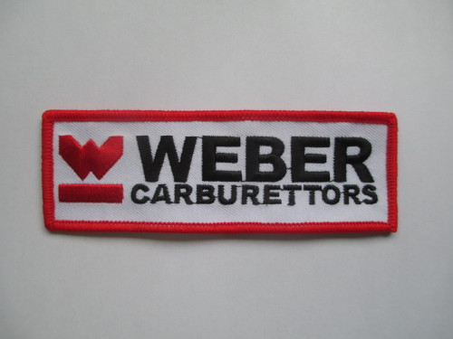 Weber Cloth Patches