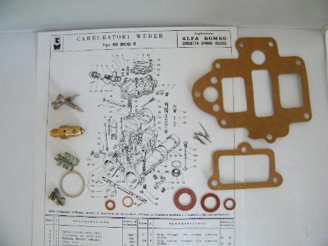 40DCO3 Service kit