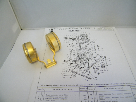 40DCO3 Brass floats