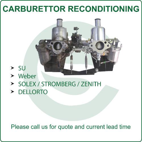 Leading Weber carburettor distributor in the UK