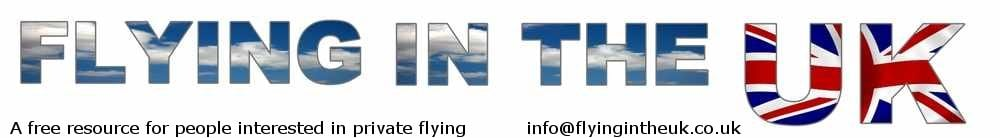 Search the Flying In The UK website, site logo.