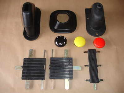 PSK 1016 - Grommets, Pedals Pads and Knobs Kit, Late 2a models only