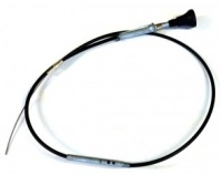 599312 - Choke Control Cable, Series 3, 2¼ Petrol, RHD and 6-cylinder LHD only
