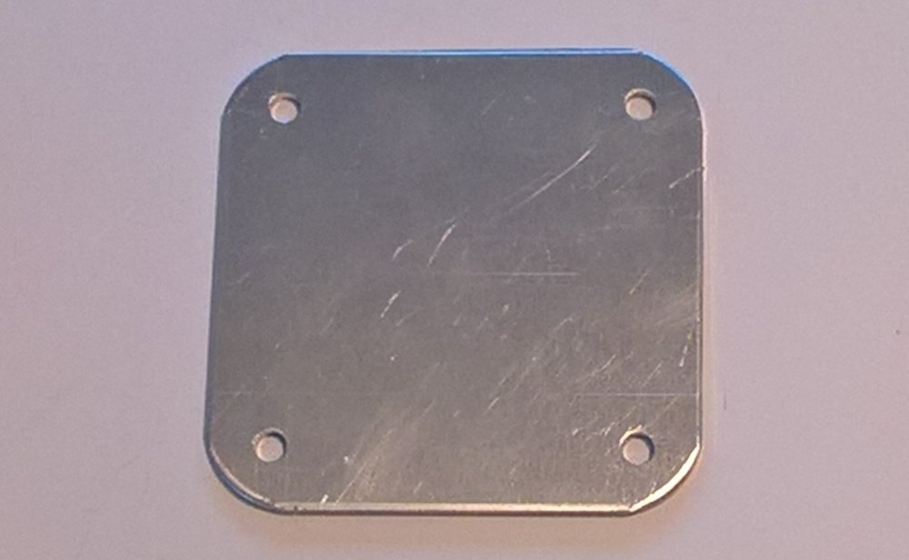 "300918 - Cover Panel for Steering Cutout, 80"" only"