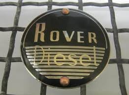 320276 REP KIT - 'Rover Diesel' Badge Kit, Enamelled Chrome