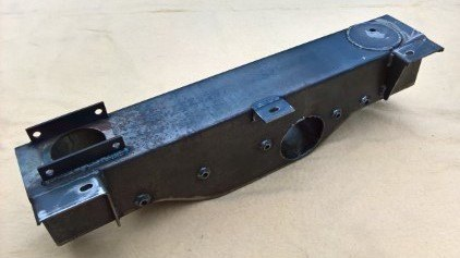 PSK 3634 - Chassis Crossmember, No. 2, Relay and Front Panel, With Winch Mo