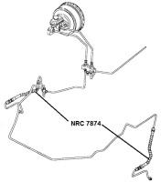 NRC 7874 - Brake Hose, Front