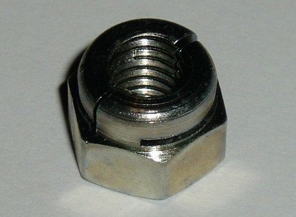 "250004 - Nut, 1/2"" UNF, Metal Locking type"