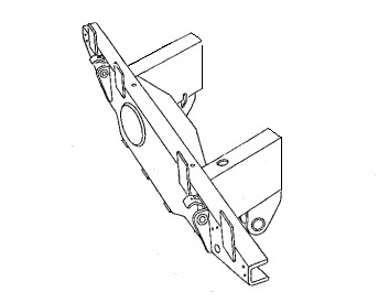 PSK 3639 - Rear Crossmember with 10