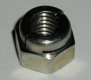"NM 605041 - Full Nut, 5/16"" UNF, Metal Locking Type"