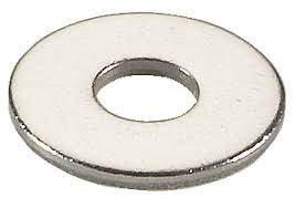 WP 106001 (25 x 1.42) - Plain Washer, M6, 25mm OD x 1.42mm thick
