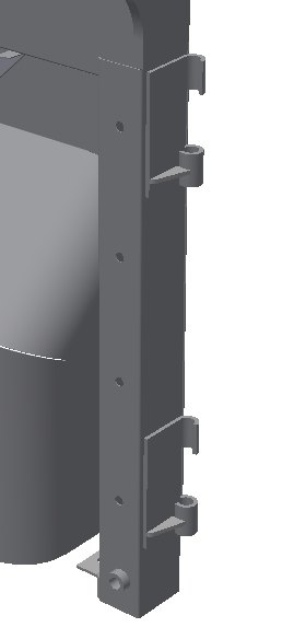 PSK 3401 - Door Pillar, LH Side