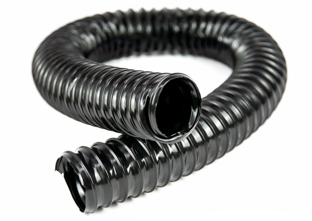 304346 (BLACK) - Tube for Demister, LH, 1954 to 1967, Black PVC