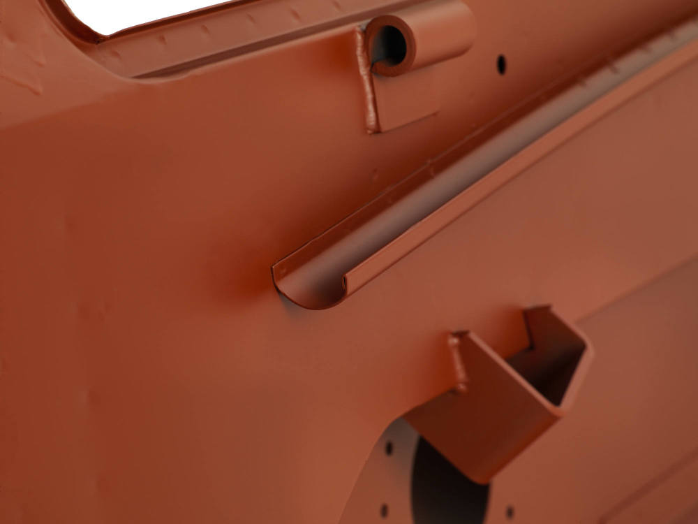 Pegasus Parts - Red Oxide - BH S2a Type 4 - Rain Channel Engine Side View -