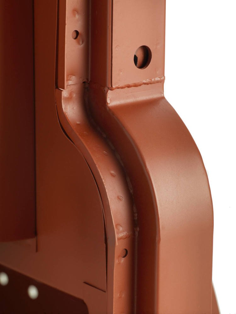 Pegasus Parts - Red Oxide - BH S2a Type 4 - Door Pillar Cab Side View - 180