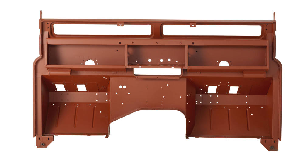 Pegasus Parts - Red Oxide - BH S2a Type 4 - Cab Side View - 120118