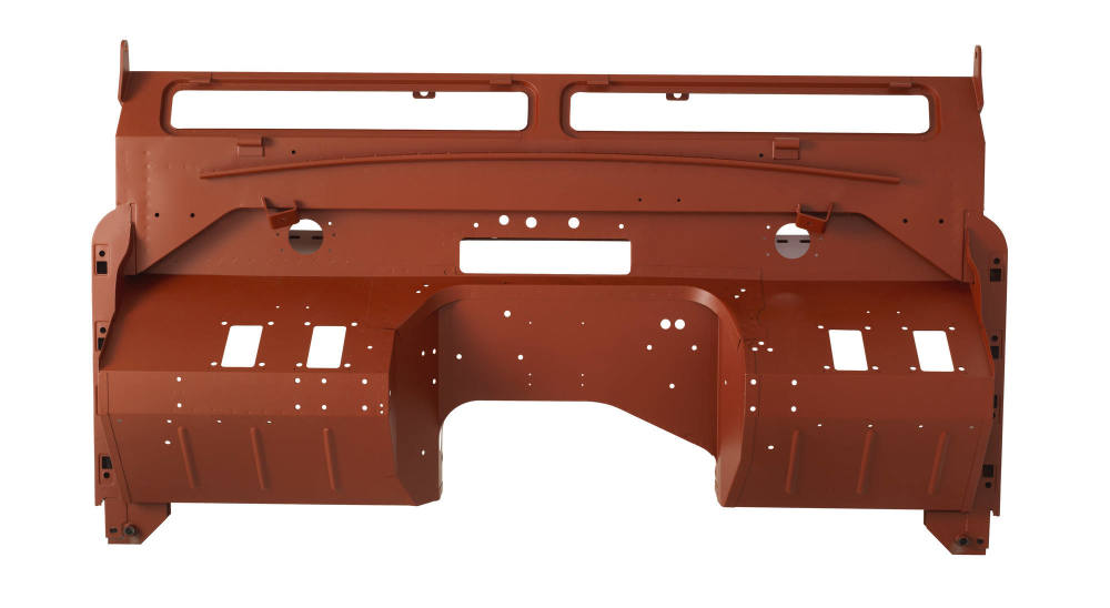 Pegasus Parts - Red Oxide - BH S2a Type 4 - Engine Side View - 120118