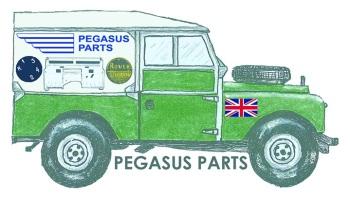 pegasus landy sticker - original