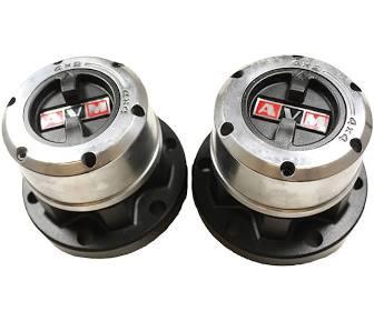 RTC 8162 - Free Wheel Hub, Pair, 10-spline type