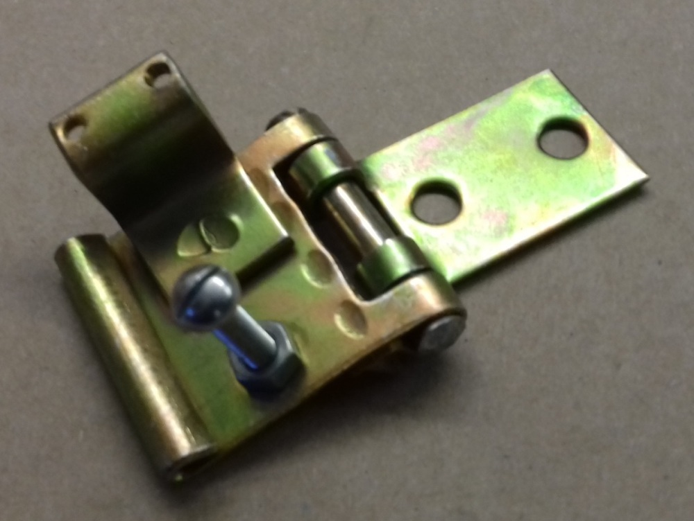 502202 NOS - Reverse Stop Hinge Assembly, New Old Stock