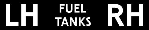 526787 - Label, Front Fuel Tanks