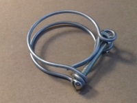 "50320 - Hose Clip, Double Wire Type, 1-3/4"" diameter hose"