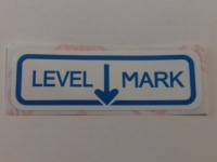 PSK 1327 - Label, Air Cleaner Oil Level Mark