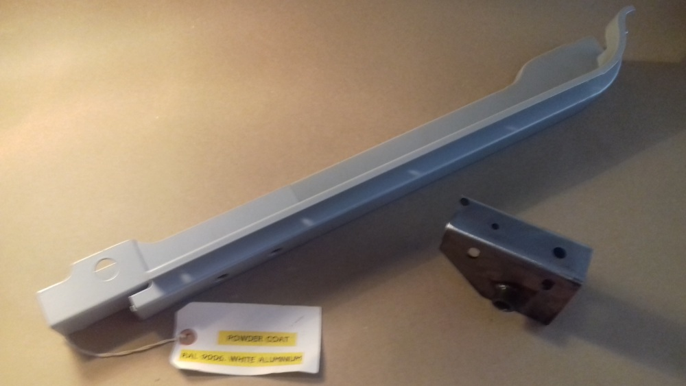 BSA 58-DP-RH-POWDER - Door Pillar Sub-assembly, RH, Type 1, Powder coated