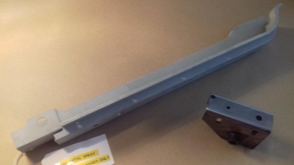 BSA 58-DP-RH-ZINC - Door Pillar Sub-assembly, RH, Type 1, Zinc metal sprayed