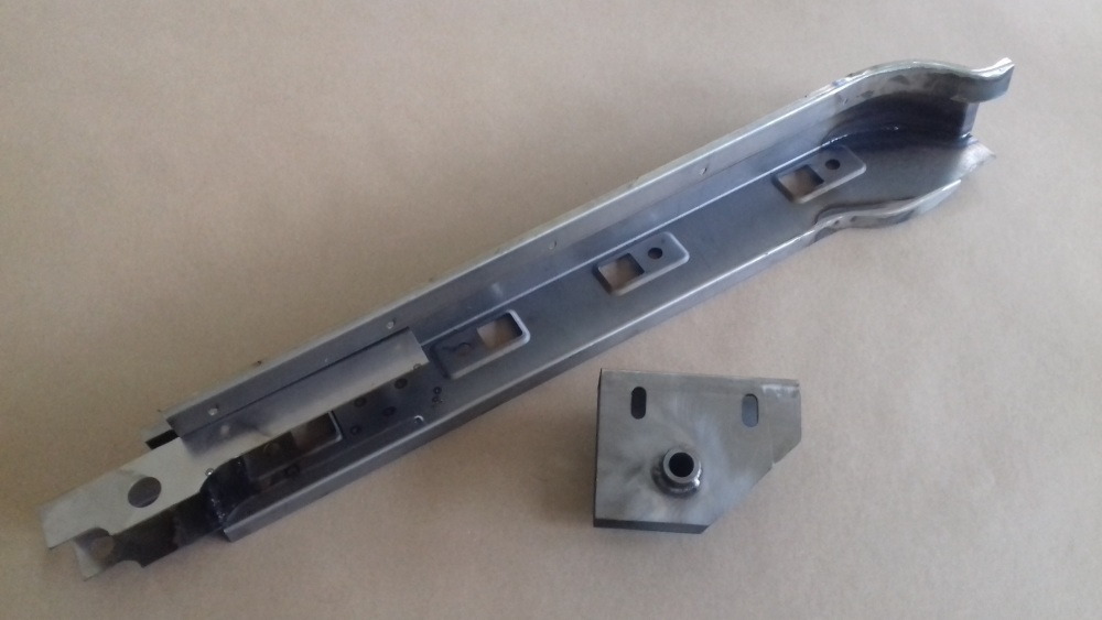 BSA 59-DP-LH - Door Pillar Sub-Assembly, LH, Type 2